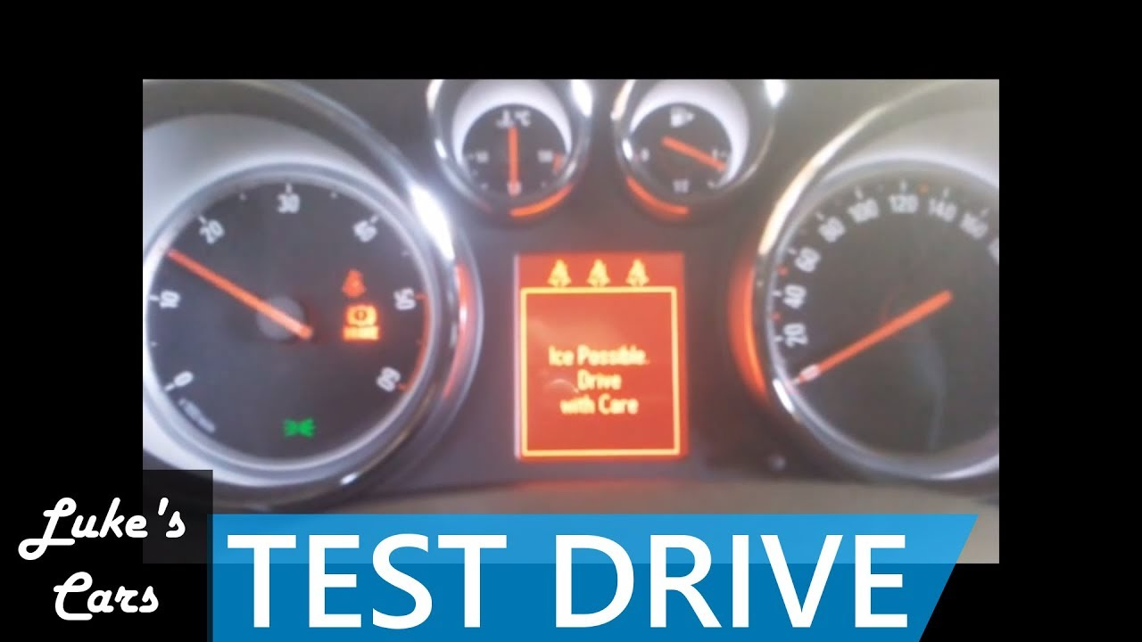 opel astra j 1.7 cdti test drive - youtube