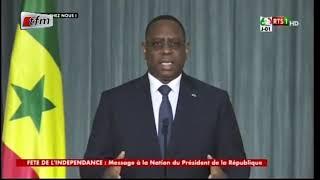 Message à la nation du Président de la République Macky Sall - 03 Avril 2020