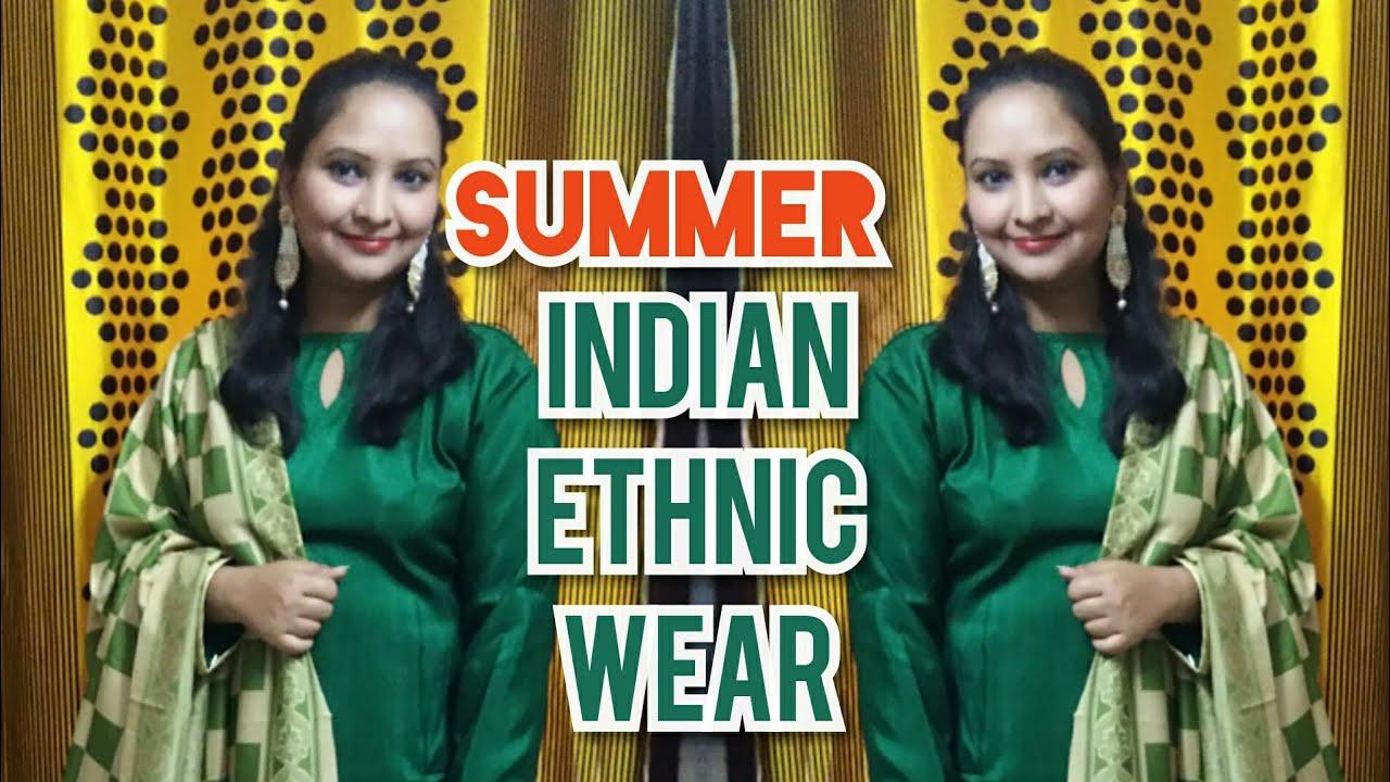 [VIDEO] - Summer ethnic wear lookbook#summer 2019 latest Kurtis design/style statement 2