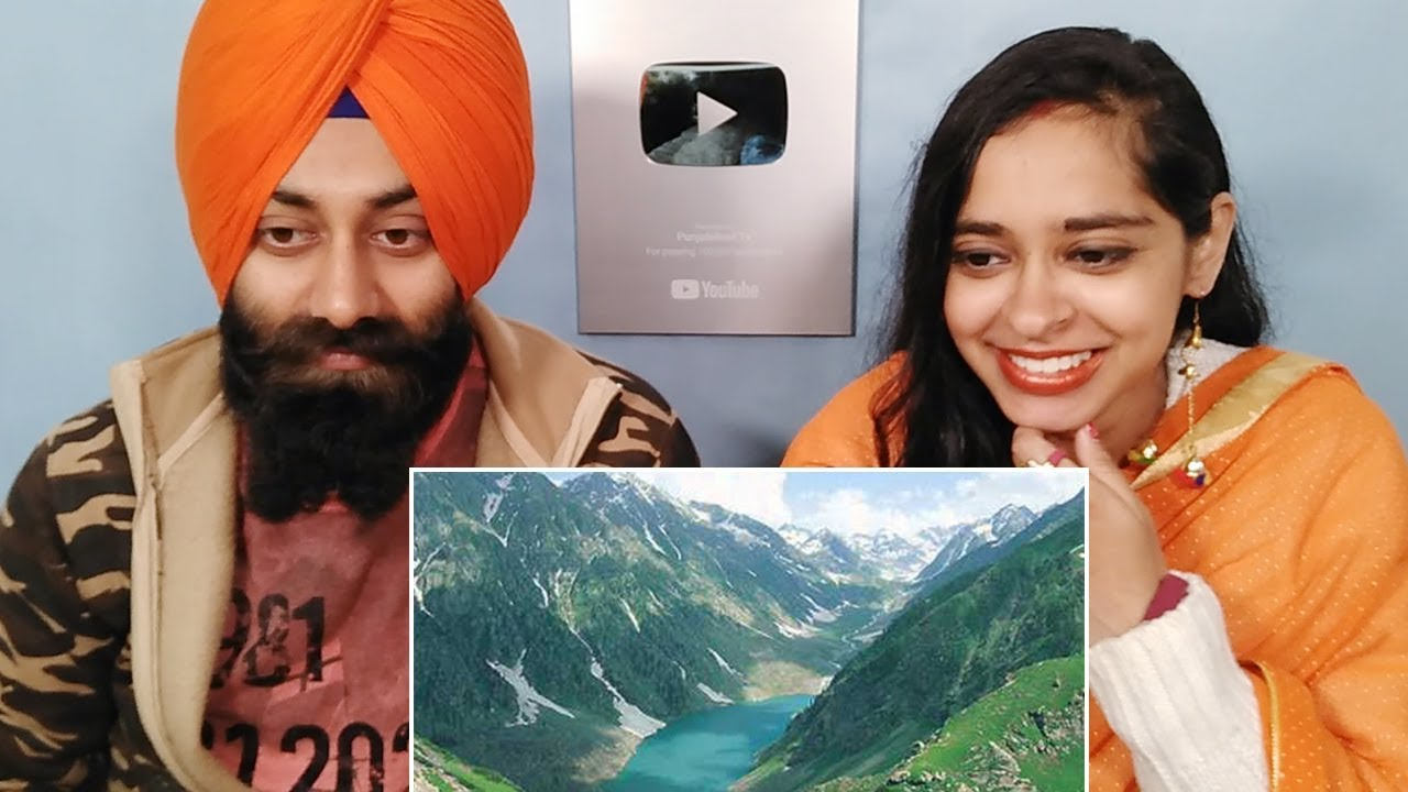 Indian Reaction on Top Ten Most Beautiful Places in Pakistan ft. PunjabiReel TV