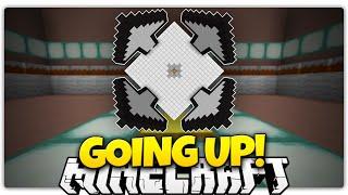 Minecraft | Goooooiiiiinnnng UP! | Reach The Top Of Each Room (Puzzle Map)