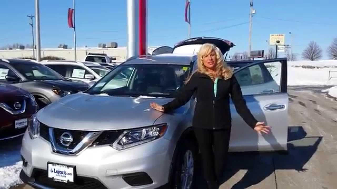 your new 2015 nissan rogue at lujack nissan in davenport iowa youtube youtube