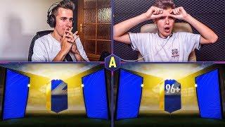 POTĘŻNY TOTS 96+ W PACK AND PLAY! QS TOTS! ADRYAN VS PABLO!   FIFA 18