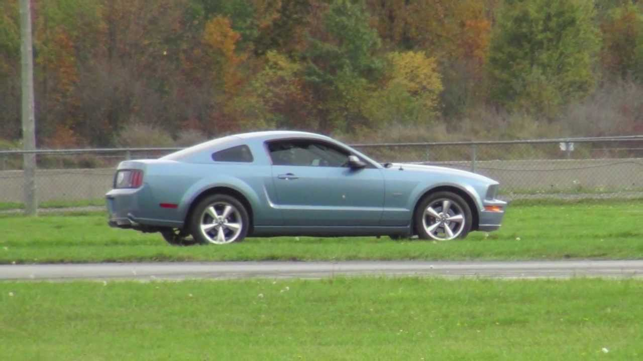 Windveil Blue Mustang Gt Laps The Road Course Tmp Youtube