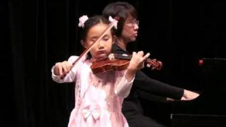 "Mercedes Cheung, 6 Years Old: Zigeunerweisen ( Sarasate ) ""Yeah! I"