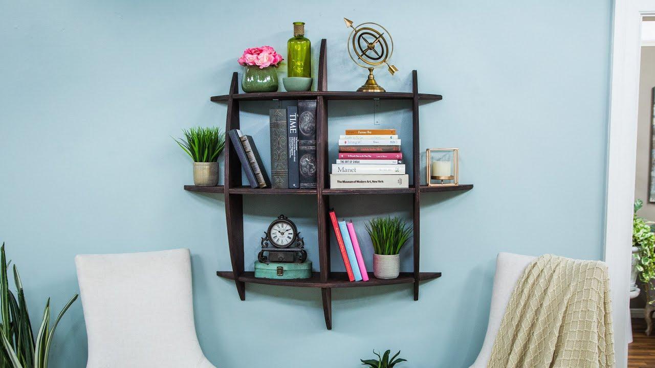 DIY Honeycomb Bookcase