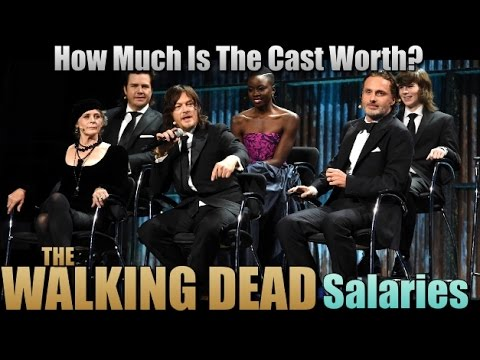 The Walking Dead Cast Makes How Much? Walking Dead Salaries TWD Cast