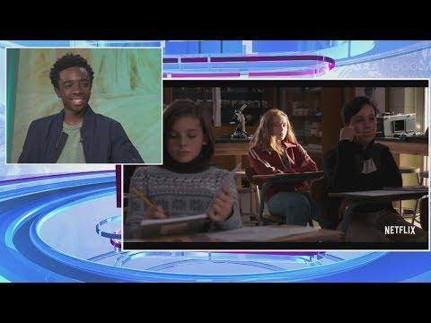 Caleb McLaughlin aka Lucas on 'Stranger Things' talks season 2, NAACP Image nom & more