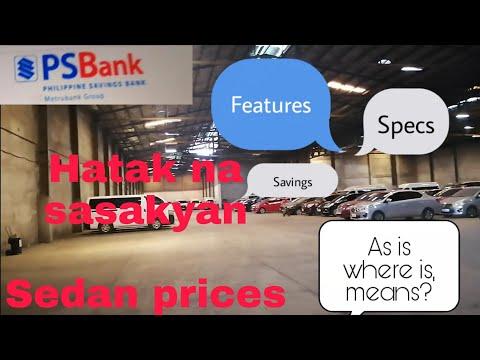 Видео: Sedan Pre-owned/repo cars prices 6/2020 #secondhandcar #slightlyusedcar #repocar #pre-ownedcars