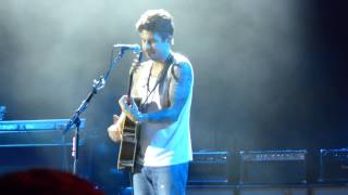 """Your Body is a Wonderland/Neon"" - John Mayer in Bonner Springs on July 10th, 2013"