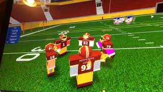 ROBLOX Legendary football with Eli - raiders, Steelers, red skins, New York giants