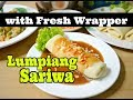Lumpiang Sariwa with Homemade Wrapper
