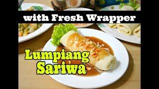 Lumpiang Sariwa with Homemade Wrapper