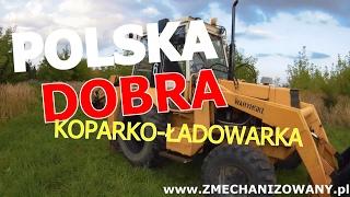 Waryński 726 / polska koparko - ładowarka realnie