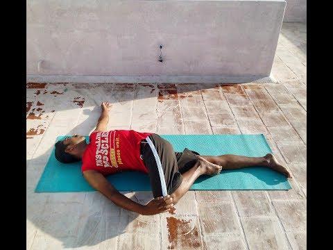 How To Do The Supta Matsyendrasana | Supine Twist | Yoga in Tamil | Next day 360