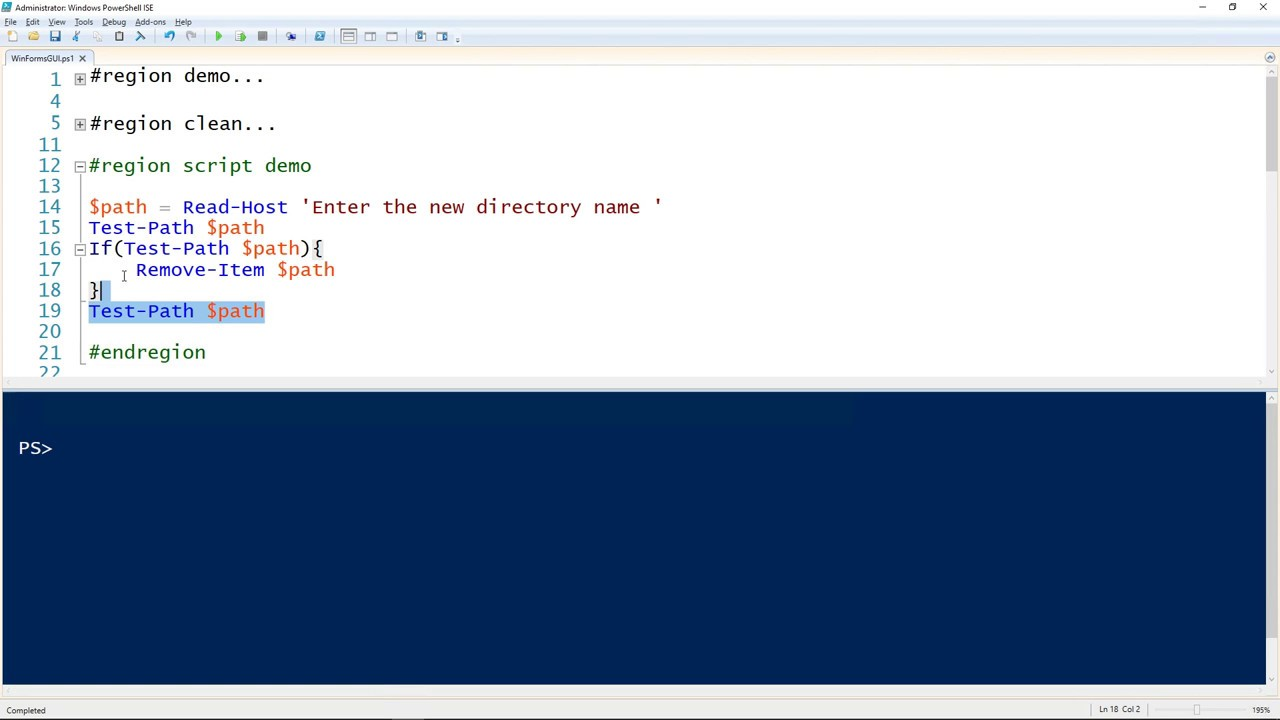 How To Create A GUI For Your PowerShell Script With WinForms