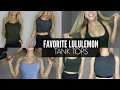 Best Ever Lululemon Tank Tops