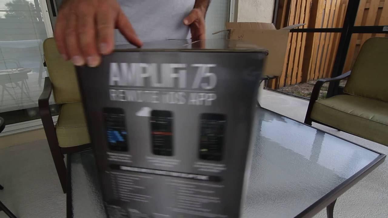 unboxing amplifi 75 by line 6 youtube. Black Bedroom Furniture Sets. Home Design Ideas