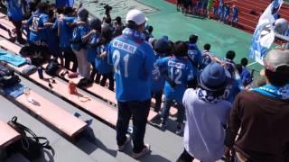2016年5月15日 J3リーグ第9節 カターレ富山戦 1:0で勝利後...