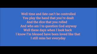 No Regrets - Gary Allan (Lyrics On Screen)