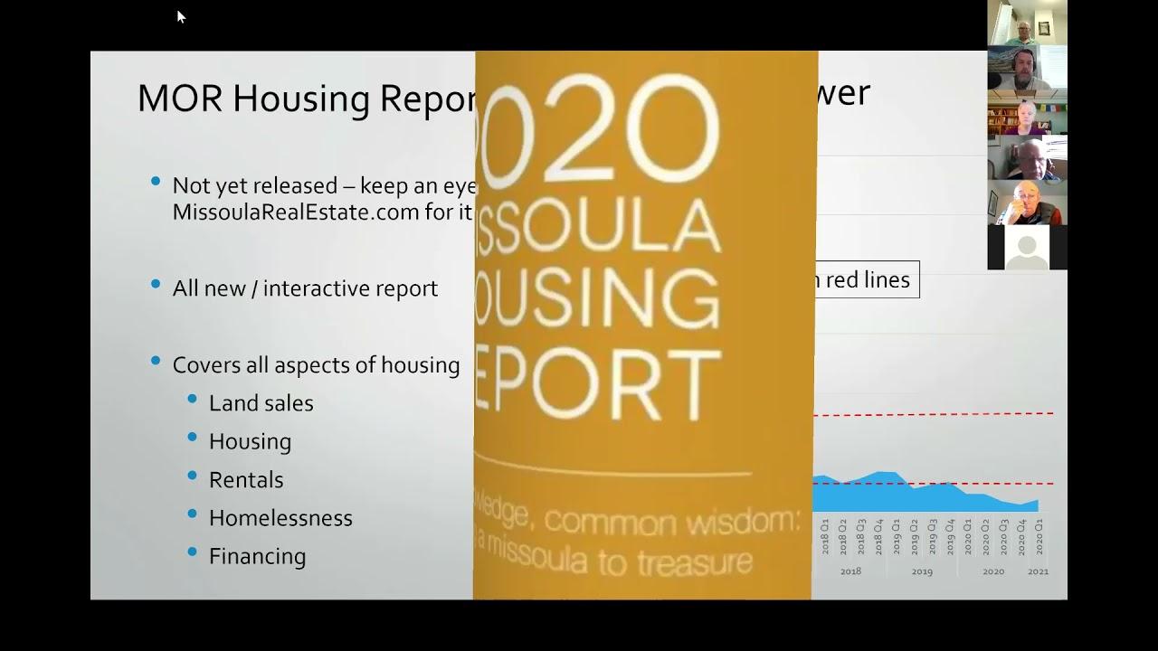Brint Wahlberg - Perspectives on Missoula Real Estate Market 4-28-21