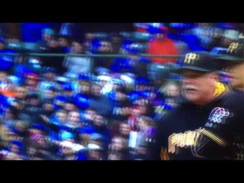 Pirates coach gets tossed