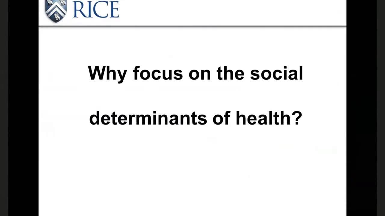 Dr. David Wetter: Social Determinants and Smoking