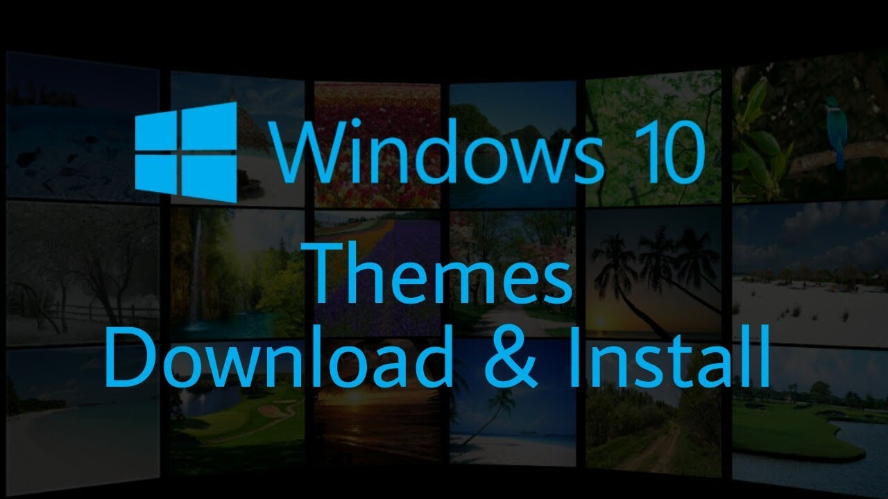 How to Download and Install Themes in Windows 10 - Personalize Your Pc with  New Themes