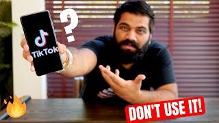 Why I Don't Use TikTok???🔥🔥🔥