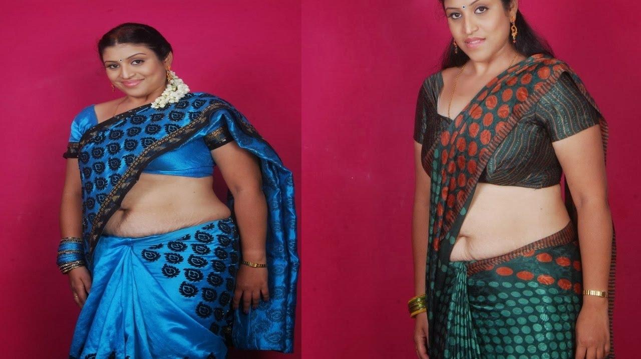 Telugu Serial Actress Uma Aunty Navel Show Video  Tamil -3057