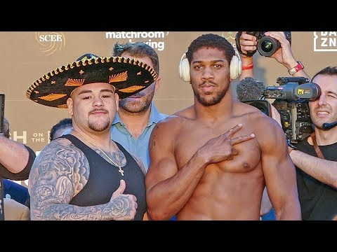 Andy Ruiz vs. Anthony Joshua 2 - FULL WEIGH IN & FINAL FACE OFF | Matchroom Boxing