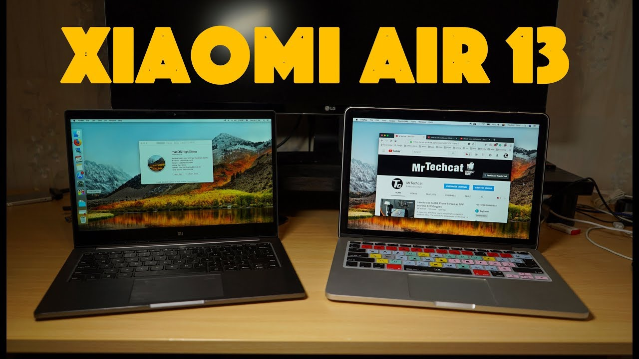 Xiaomi Mi Notebook Air 13 - MacOS High Sierra Hackintosh