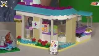 Ветеринарная клиника из серии Lego Friends 41085, набор для девочек!