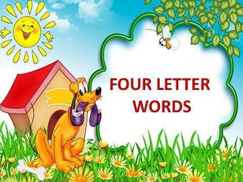 Four Letter Words For Kids