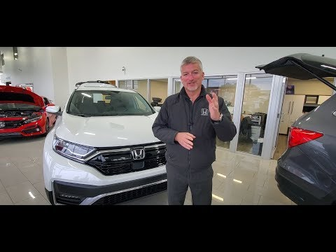 2020 Honda CR-V Touring Walk Around With Bryan Weir | WHITBY OSHAWA HONDA