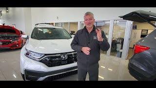 2020 Honda CR-V Touring Walk Around with Bryan Weir | WHITBY OSHAWA HONDA