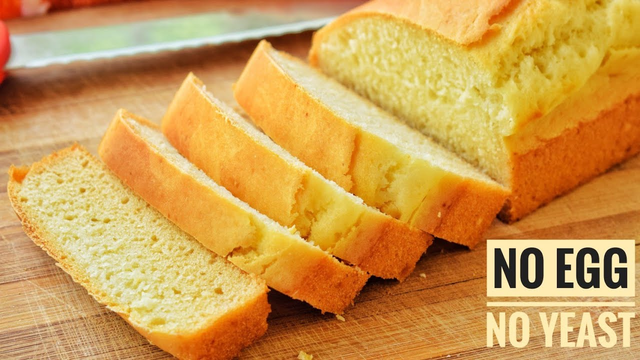 Homemade Milk Bread In Lock-Down Without Eggs & Yeast ...