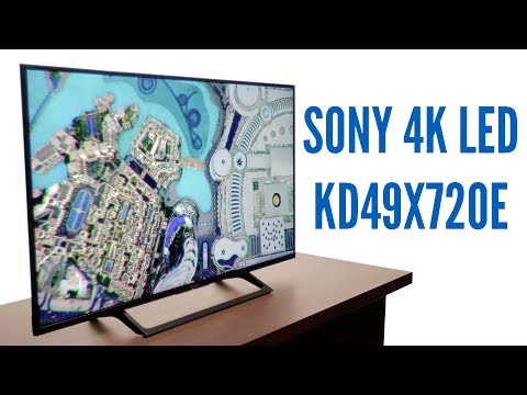 First Look: Sony KD49X720E 4K HDR LED X720E Series