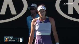 Симона Халеп — Гарбинье Мугуруса. Australian Open-2020. Обзор матча