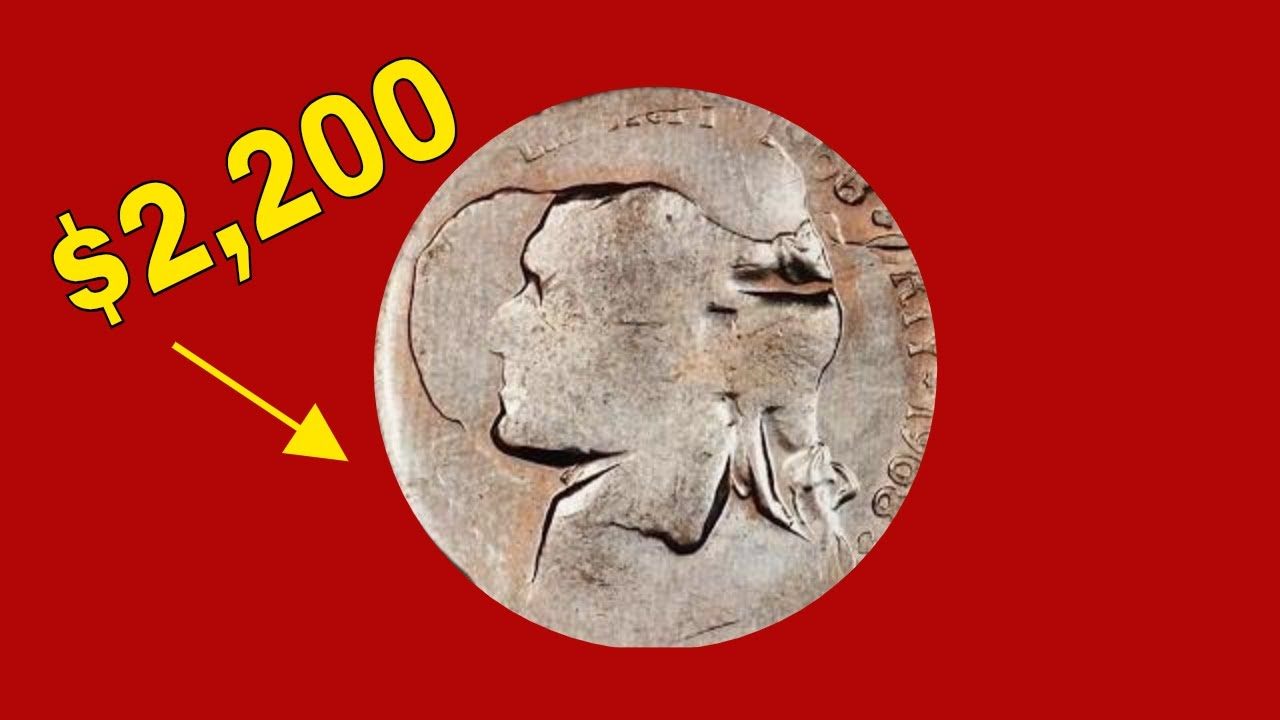 SUPER RARE 1968S JEFFERSON NICKEL ERROR WORTH MONEY! NICKEL COINS TO LOOK  FOR!!