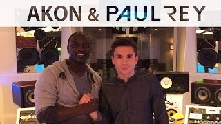 "Akon & Paul Rey listening to ""Good as Hell"""