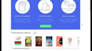 Онлайн библиотека электронных книг - обзор