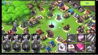 ブームビーチ基本攻略 boombeach basic strategy.
