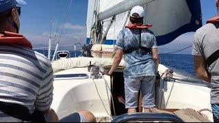 Курсы Яхтенных Капитанов  школы Яхт Дрим. Отзывы и эмоции курсантов  об обучении  яхтингу.
