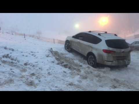 Subaru Tribeca off road snow