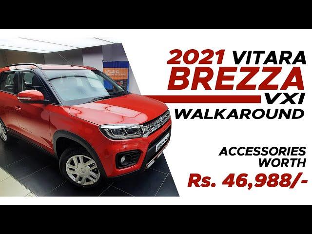 New 2021 Vitara Brezza VXI -Walkaround | Interior & Exterior