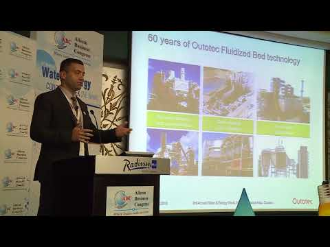 Mr. Buelent Aksu at the 3rd Annual Water & Energy Congress