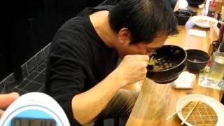 1分23秒 岡村正史 (早食い ゴーゴーカレー チャンピョン 全日本代表...