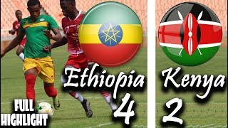 Ethiopia 4-2 Kenya #AFCON Qualifier Aug 22, 2018