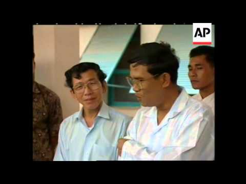 CAMBODIA: HUN SEN HOLDS PRESS CONFERENCE IN HOSPITAL